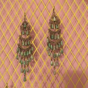 Dangly Free People earrings